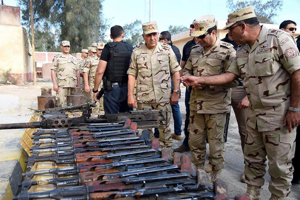 Crédit : Mohamed Abdelmoaty, Egyptian Presidency / AFP