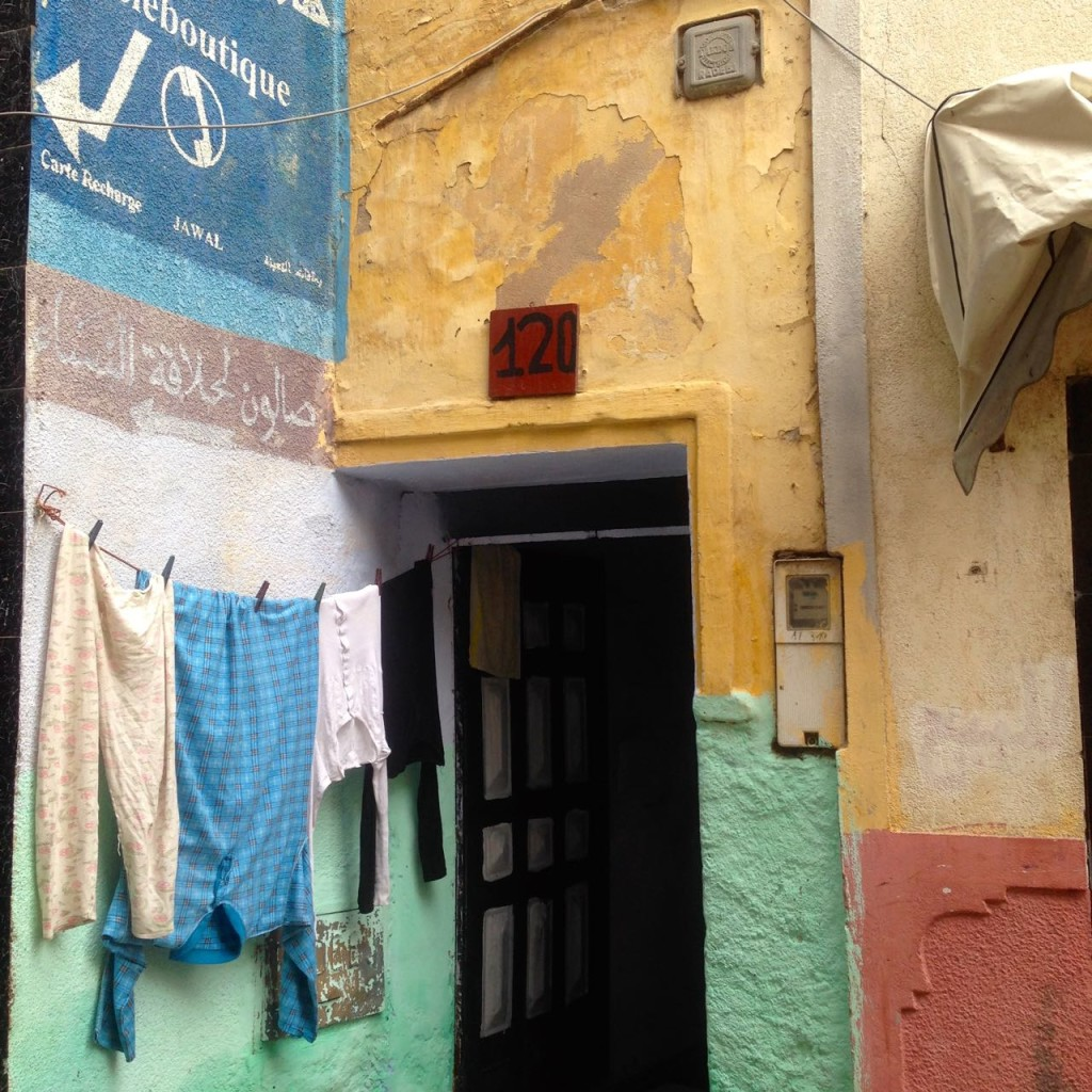Residential area in Aljadida's medina - Crédit : Jenny Gustafsson