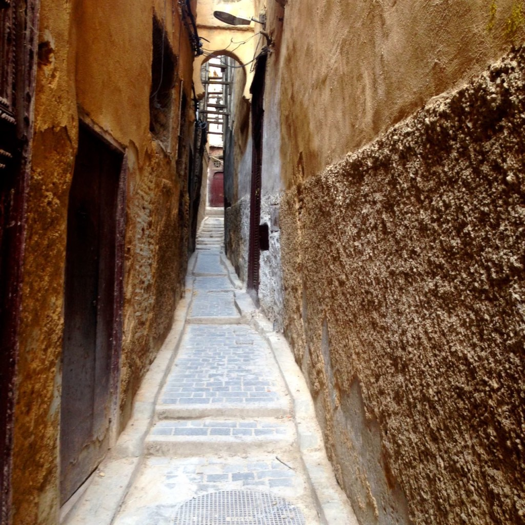 A narrow alley in the medina of Fes - Crédit : Jenny Gustafsson