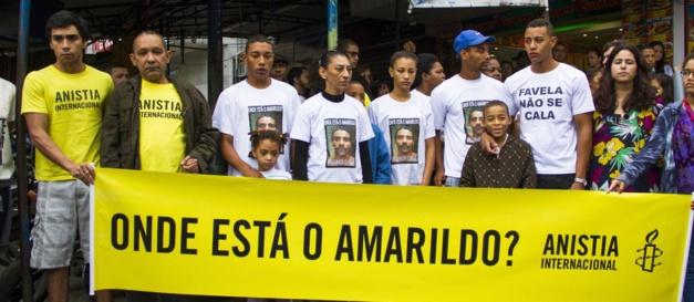 Brasilien - im Visier von Amnesty International