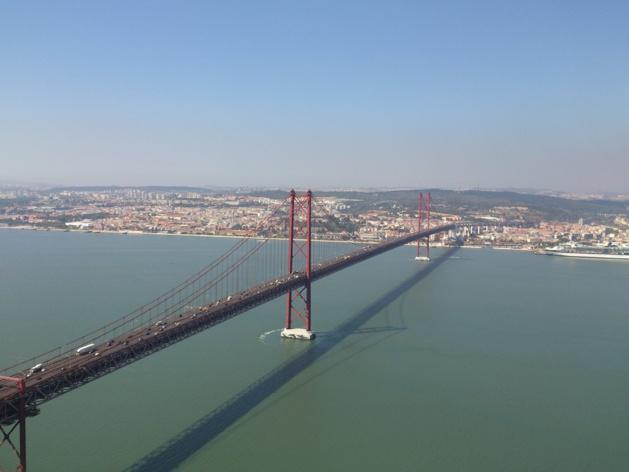 Ponte 25 de aprile - Fonte : James le Calvez