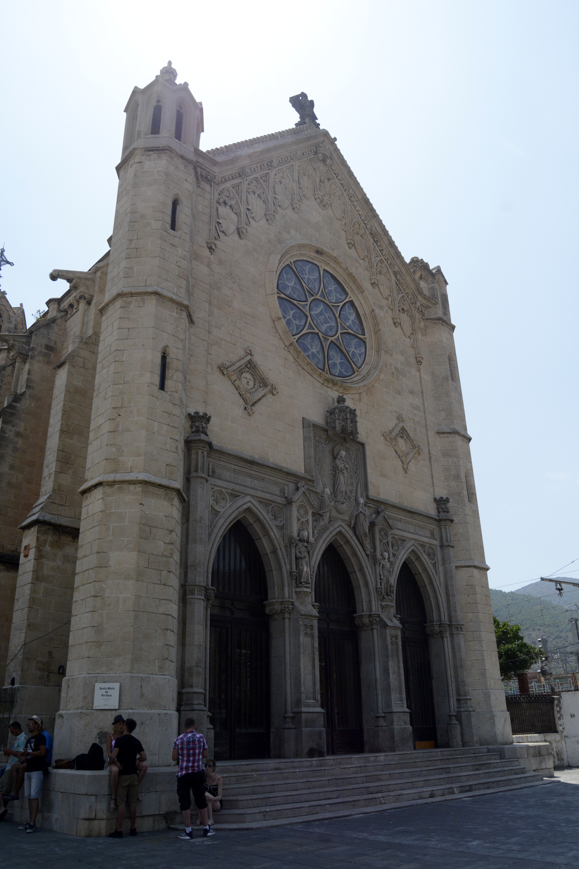 La façade de l'église Santa Maria. Crédit Auriane Guiot