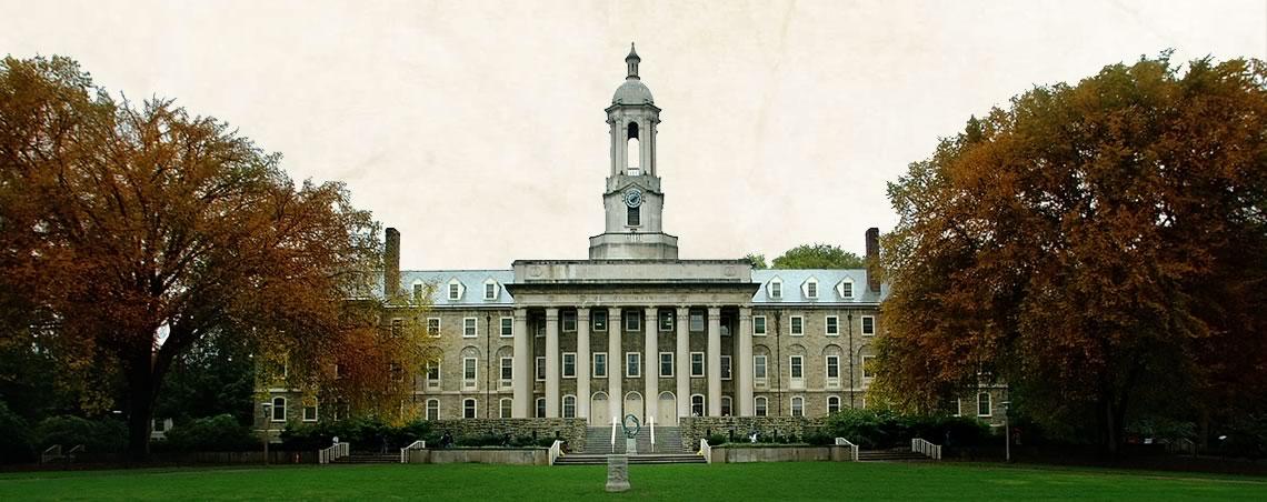 Pennsylvania State University a recensé 84 cas d'agressions sexuelles entre 2010 et 2012. Credit Penn State Archives