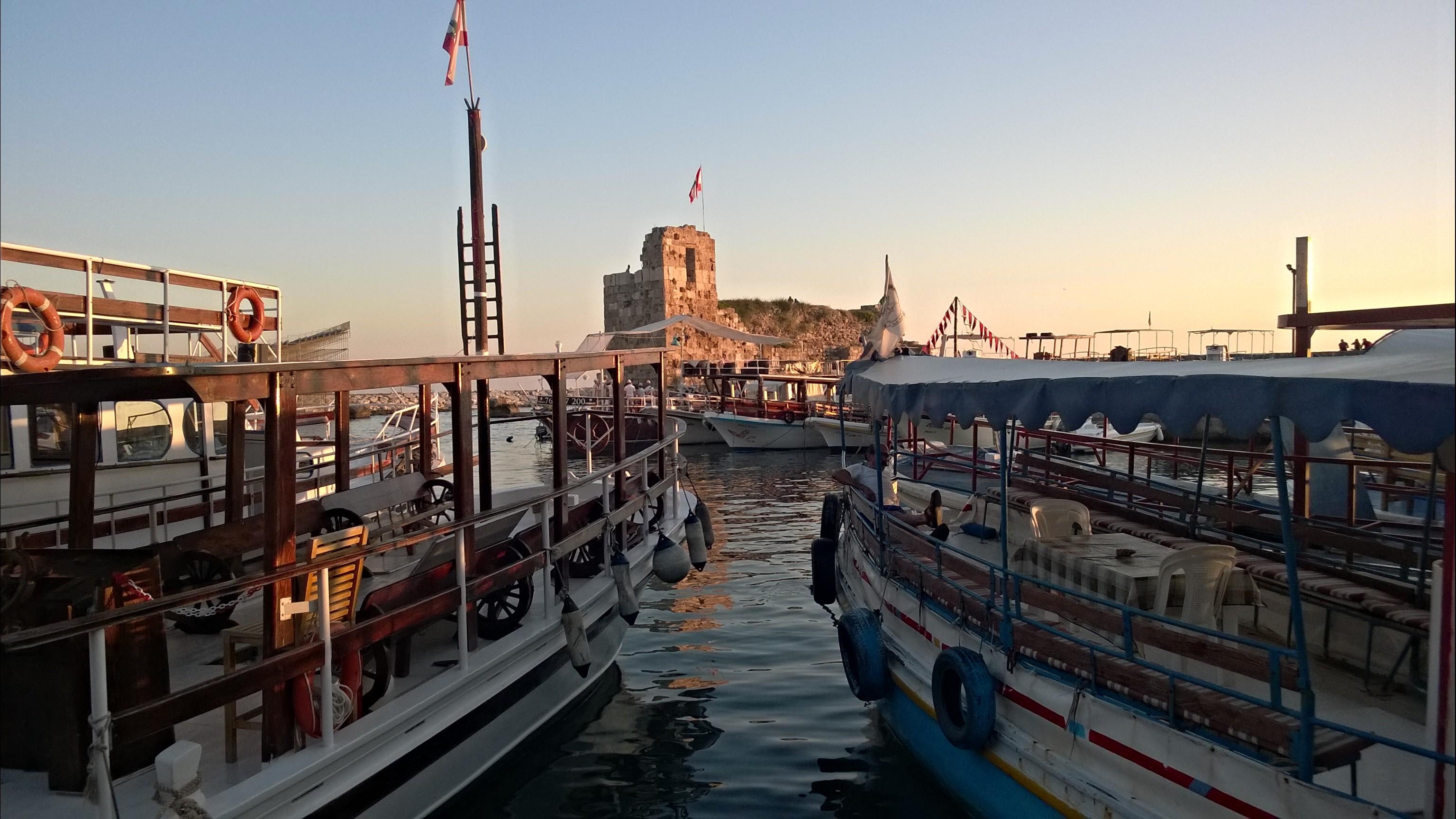 Le vieux port de Byblos - Crédit Salomé Ietter