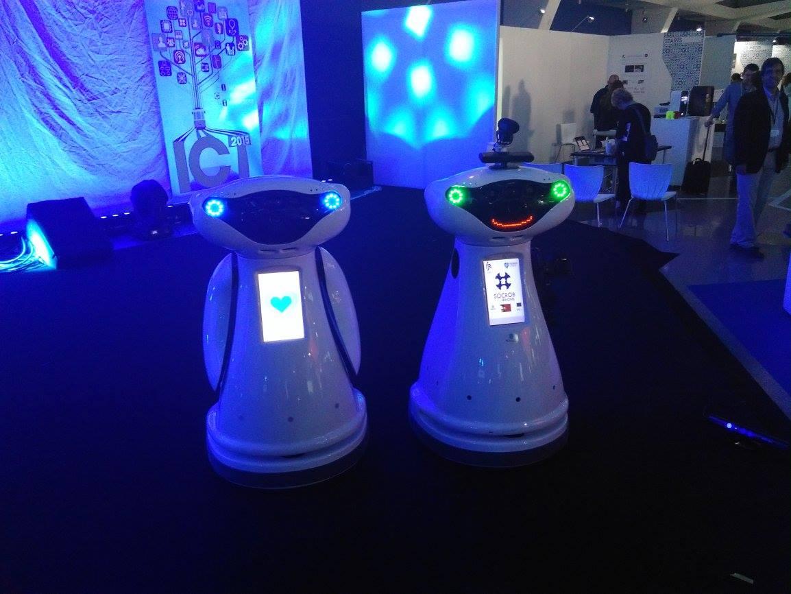 Les robots du projet USEMP - Crédit Clarisse Boyer