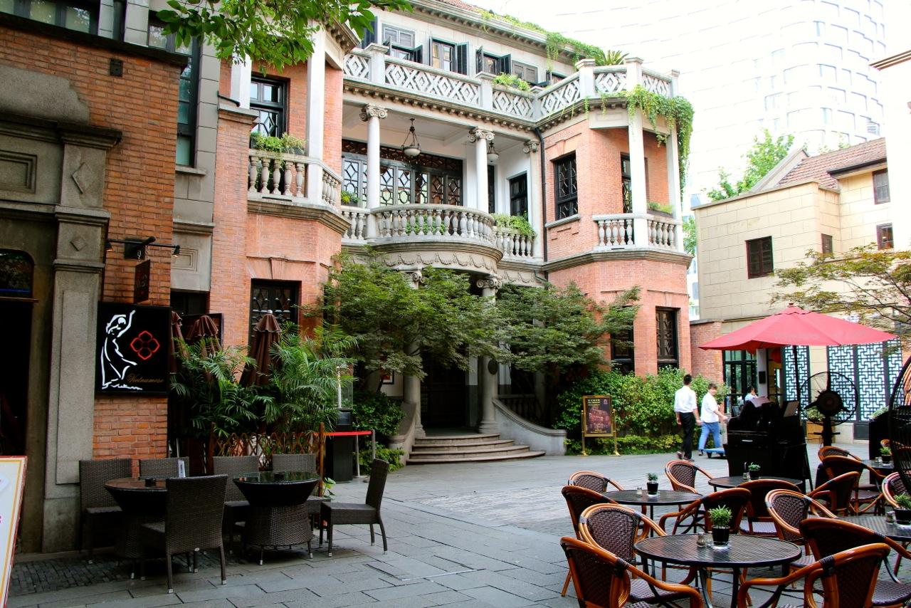 Villa typique de la Concession Française - Crédit Eugénie Rousak