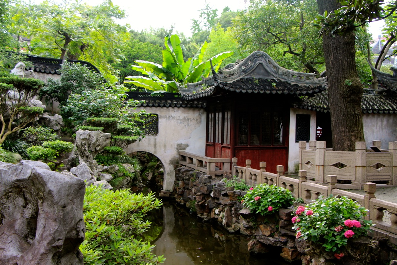 Jardin Yu de deux hectares au coeur de Nanshi - Crédit Eugénie Rousak