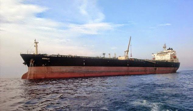 Le pétrolier Kerala - Crédit John Currin