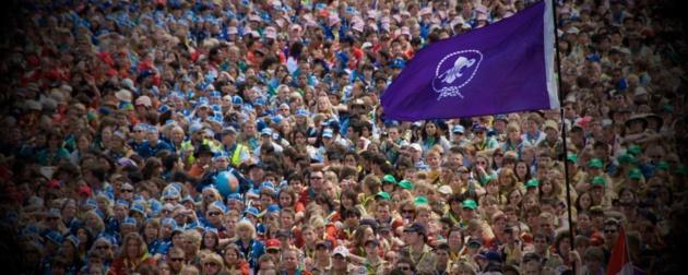 Manifestación mundial Japón 2015 Crédito scout.org