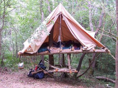 Tenda sopraelevata. Fonte Suf02