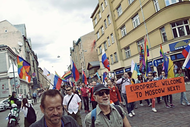 Gay Pride Riga, June 2015. Courtesy of Julija Stancevičiūtė