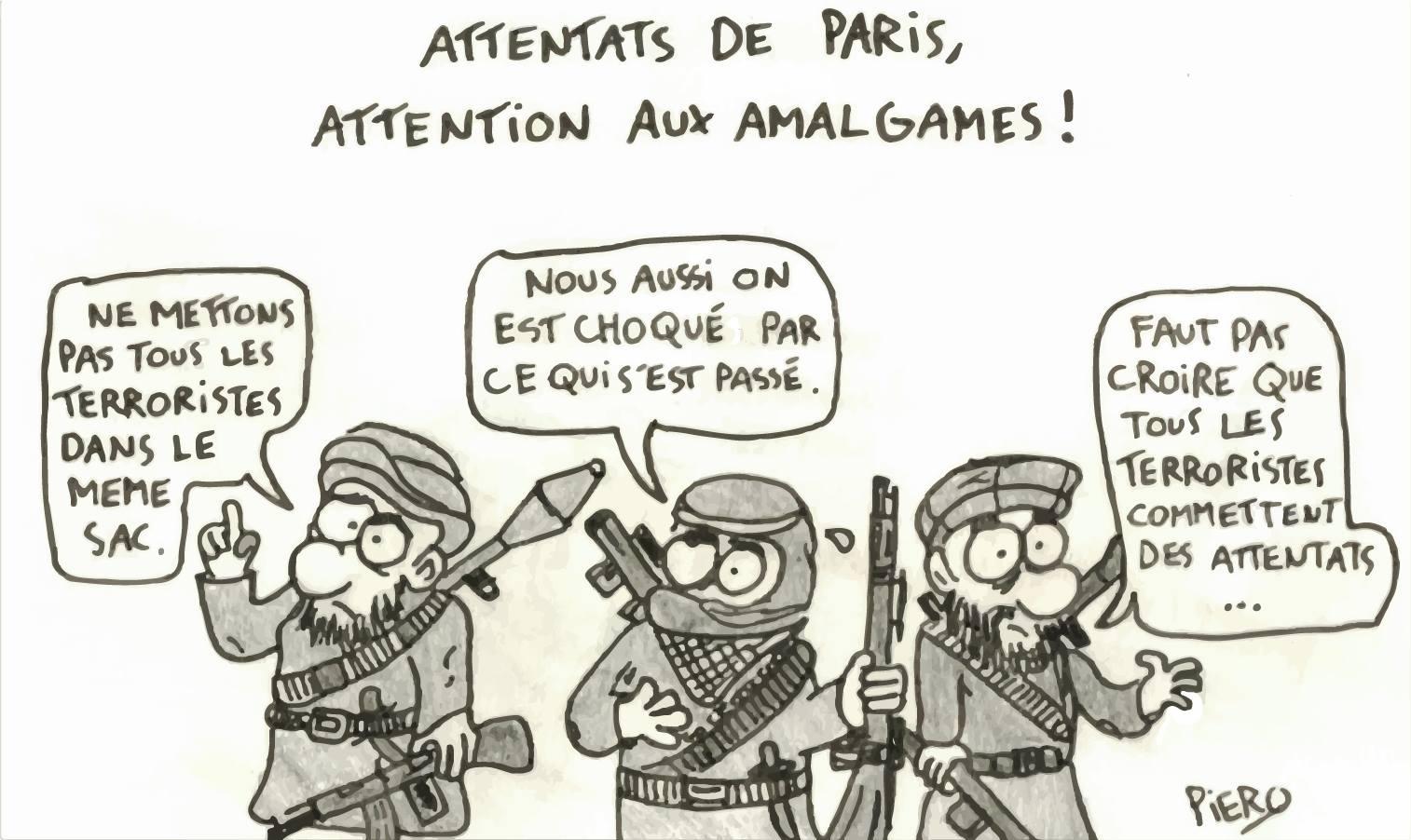 Attentats de Paris, attention aux amalgames !