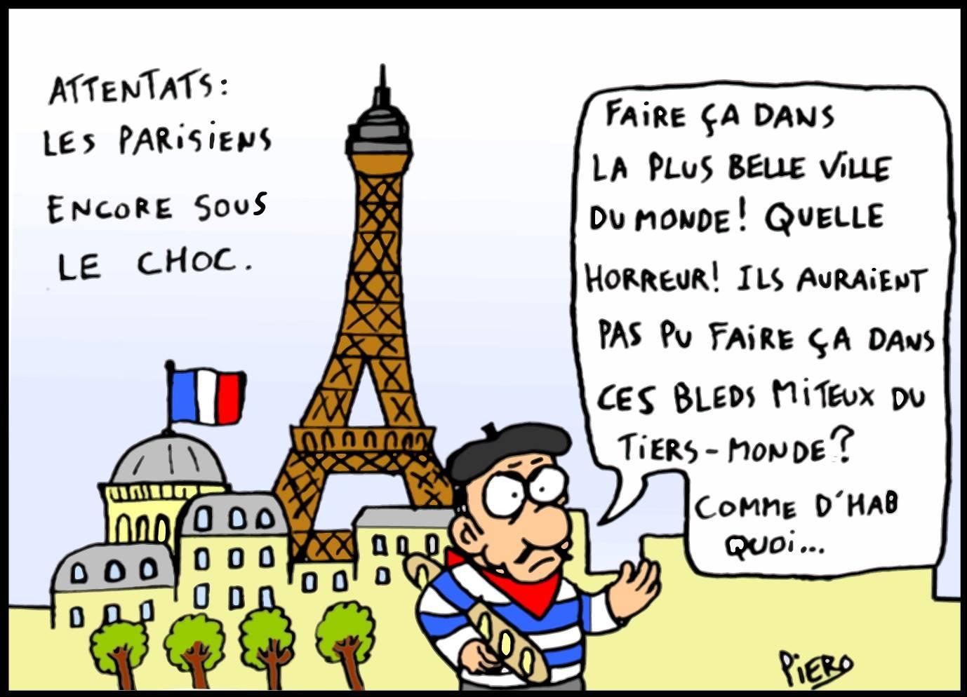 Paris sous le choc