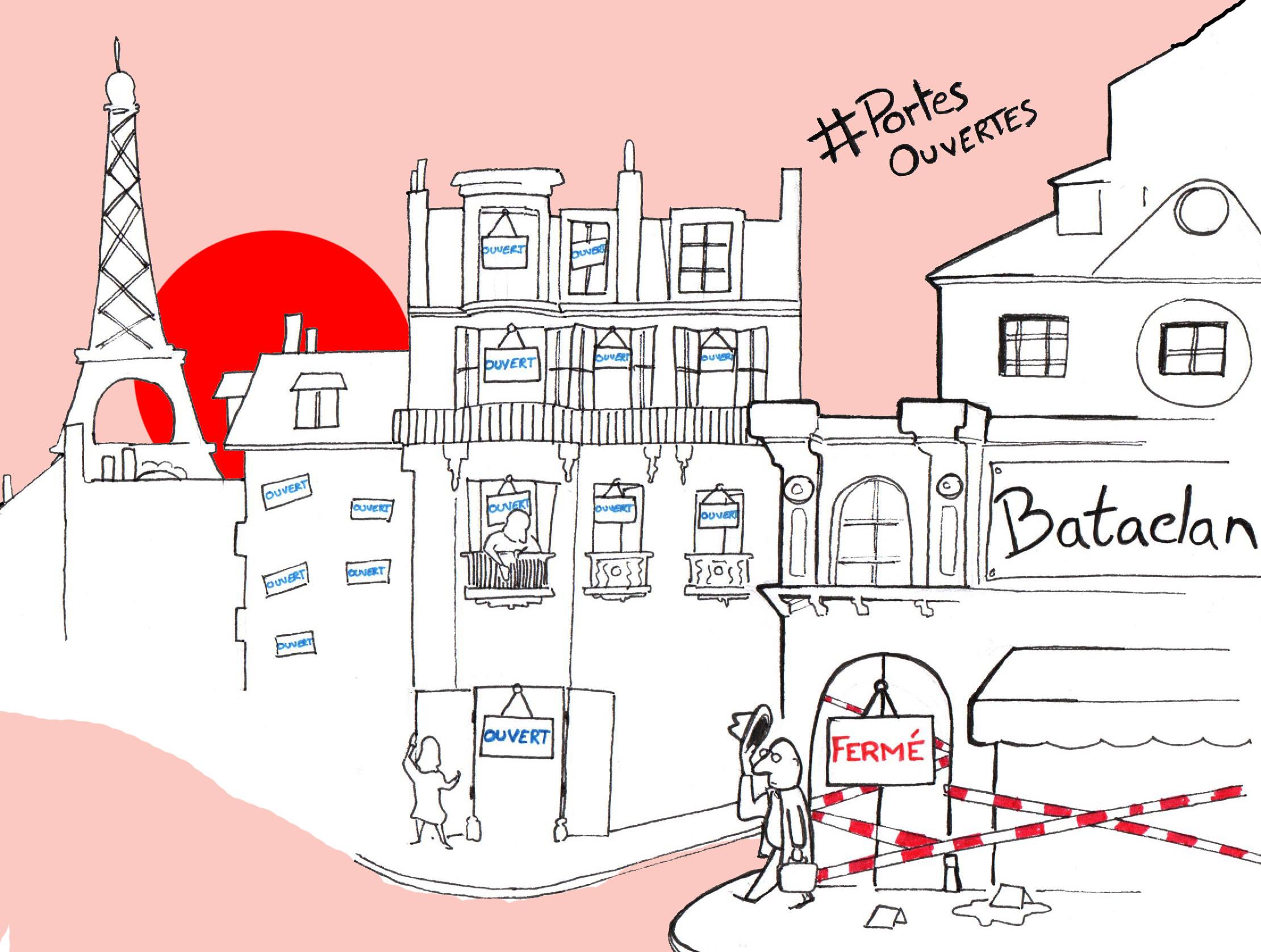 Attentats à Paris : Une porte qui se ferme est aussi une porte qui s'ouvre