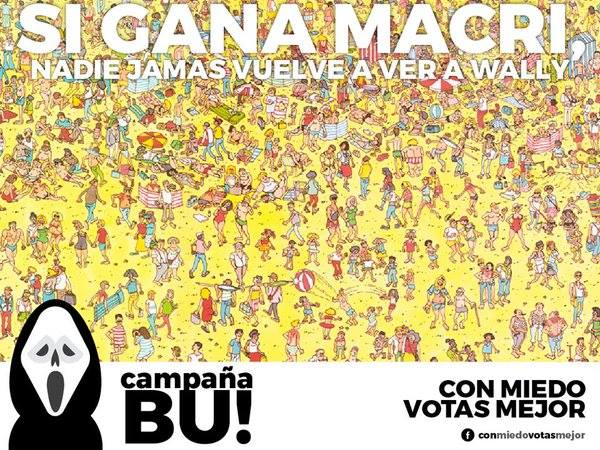 « Si Macri gagne personne ne retrouvera jamais Charlie » – Crédit Conmiedovotasmejor
