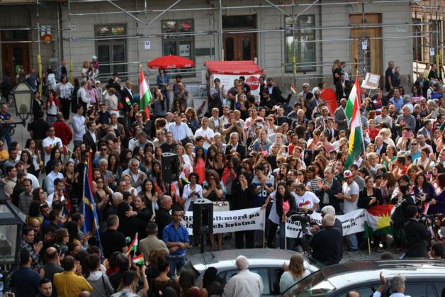 Protest in Stockholm (Sweden), 7th April 2014. Credit Stefan Olsson / Flickr (CC BY 2.0)