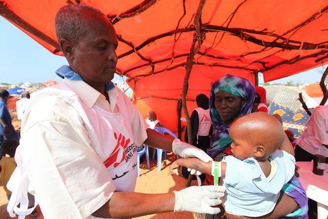 Médecins Sans Frontières en Somalie (Crédits Feisal Omar)