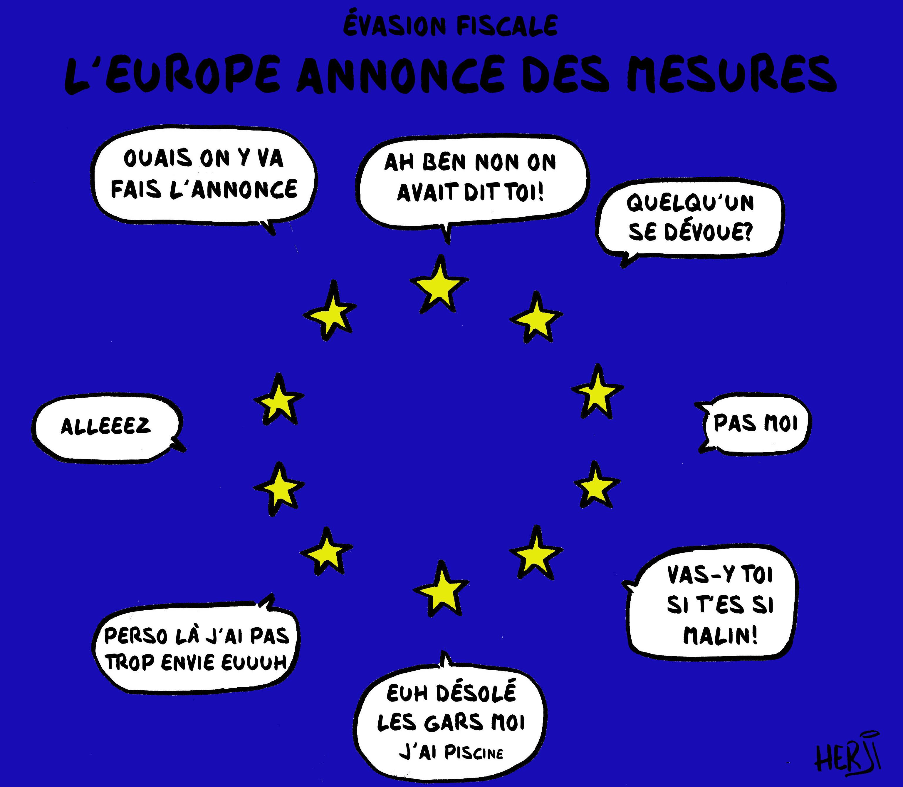 L'UE montre les muscles