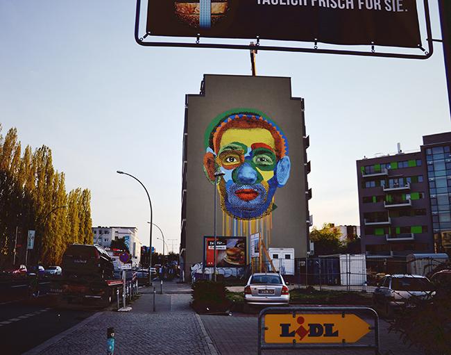 Fresque murale aux alentours de Schöneberg. Crédits : Chloé Marchal