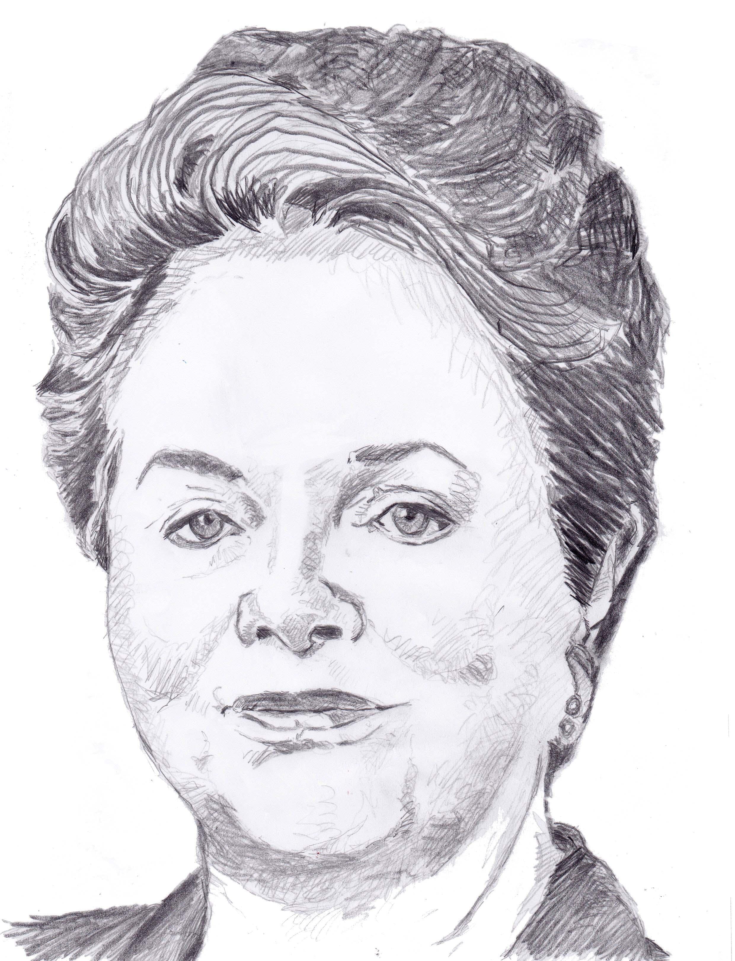 Dilma Roussef. Fonti Muriel Epailly.