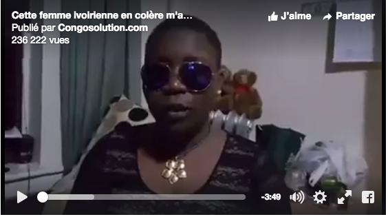 Une internaute ivoire en colère contre Koffi Olomidé.