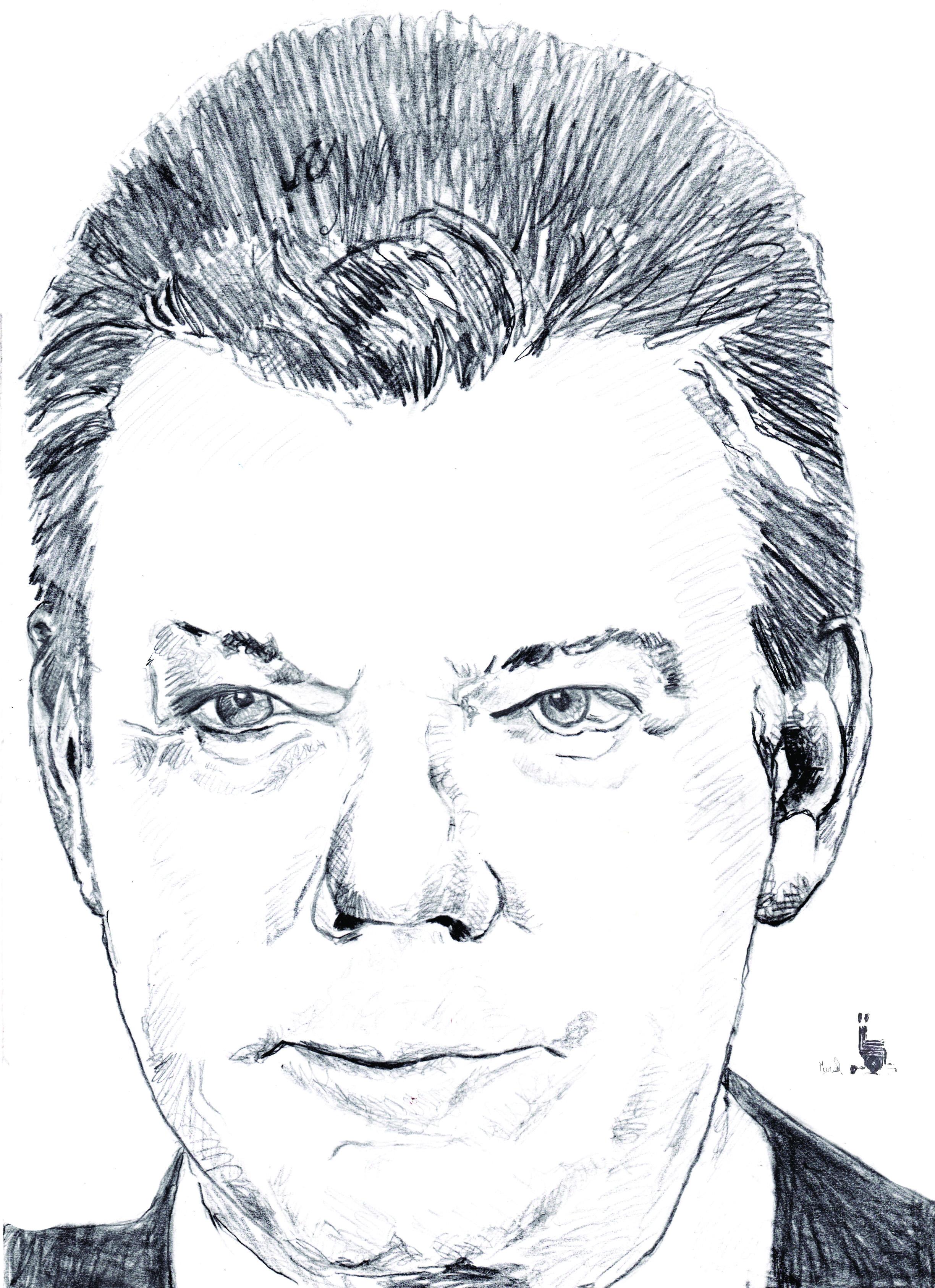 Le Président Juan Manuel Santos. Crédit Muriel Epailly.