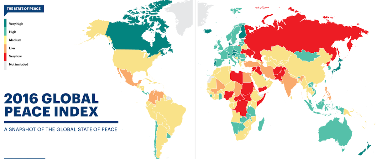Global Peace Index 2016 – captura de pantalla