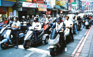 Vivere in scooter a Taiwan
