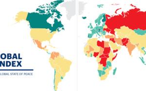 Índice de Paz Global: situación del pacifismo en Europa, Oriente Medio y África