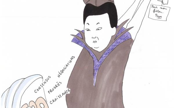 Kim, non-invité au bal des négociations