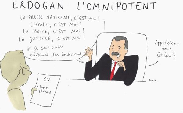 Erdogan l'omnipotent