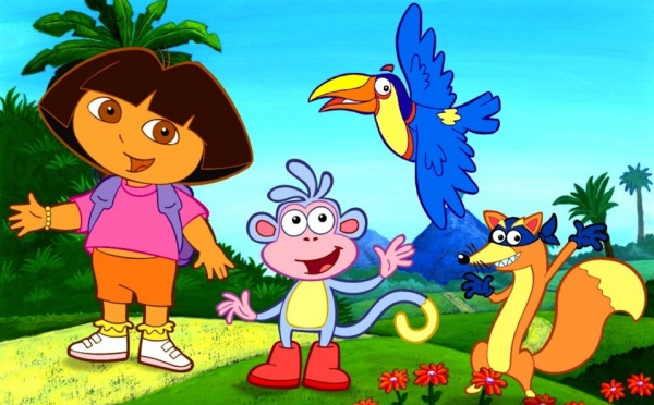 Faites comme Dora, speak English
