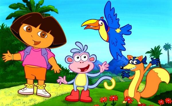 Faites comme Dora, speak English