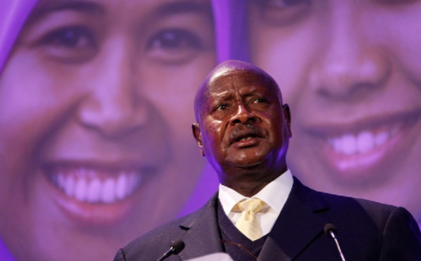 After a 30-year rule, what is Yoweri Museveni's presidential record?