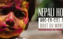 Nepali Holî : arc-en-ciel au bout du monde