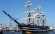 L'Amerigo Vespucci, un navire école pour la Marine italienne