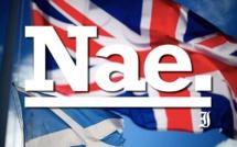 L'Ecosse dit non à l'indépendance !