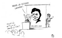Hillary Clinton se lance dans la campagne présidentielle
